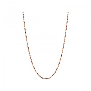 Links Of London Essentials 18kt Rose Gold 1mm Ball Chain 45cm