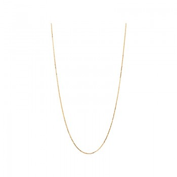 Links Of London Essentials 18kt Rose Gold 1mm Cable Chain 60cm