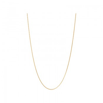 Links Of London Essentials 18kt Yellow Gold Vermeil 1.5mm Cable Chain 70cm
