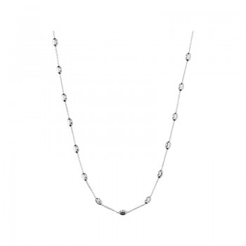 Links Of London Essentials Sterling Silver Beaded Chain 45cm