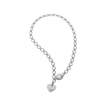 Links Of London Essentials Sterling Silver Classic Links of London Heart Necklace