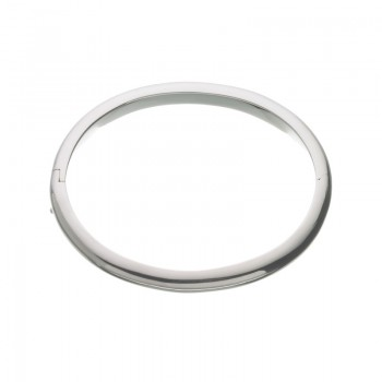 Links Of London Essentials Sterling Silver Classic Oval Hinged Bangle