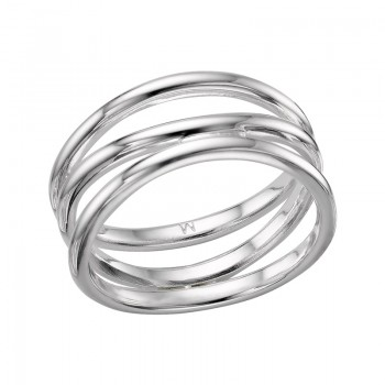 Links Of London Essentials Sterling Silver Infinite Triple Fix Ring