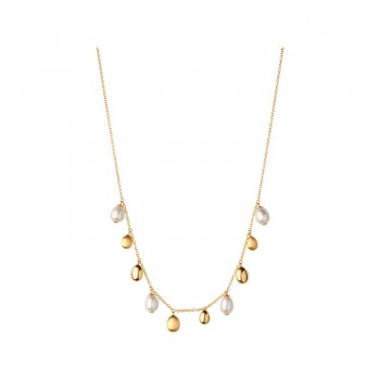 Links Of London Hope 18kt Yellow Gold Pearl Necklace
