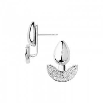 Links Of London Hope Sterling Silver & White Topaz Ear Jacket