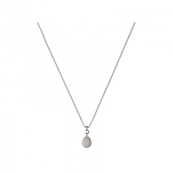 Links Of London Hope Sterling Silver & White Topaz Necklace