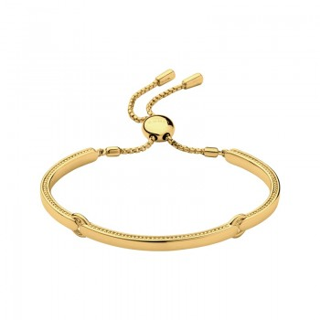 Links Of London Narrative 18kt Yellow Gold Vermeil Bracelet