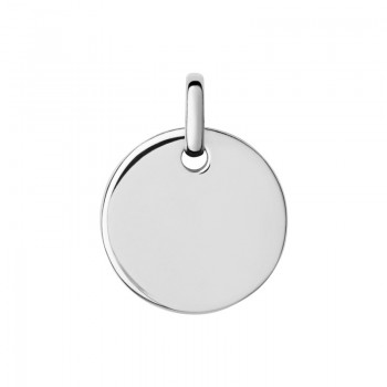 Links Of London Narrative Sterling Silver Small Round Disc Pendant