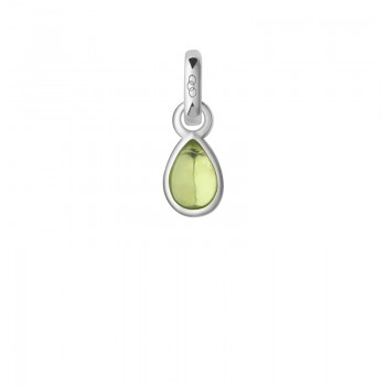 Links Of London Peridot & Sterling Silver August Mini Birthstone Charm