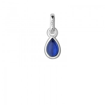Links Of London Sapphire & Sterling Silver September Mini Birthstone Charm