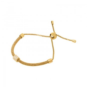Links Of London Starlight 18kt Yellow Gold Vermeil & Sapphire Bead Bracelet