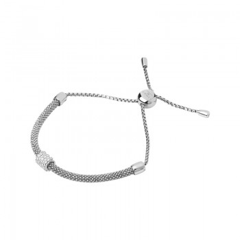 Links Of London Starlight Sterling Silver & Sapphire Bead Bracelet
