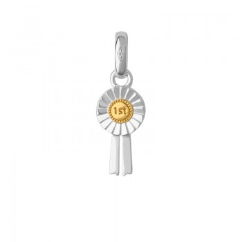 Links Of London Sterling Silver & 18kt Yellow Gold Vermeil 1st Place Charm