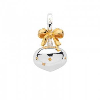 Links Of London Sterling Silver & 18kt Yellow Gold Vermeil Bauble Charm
