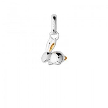 Links Of London Sterling Silver & 18kt Yellow Gold Vermeil Chinese Zodiac Rabbit Charm