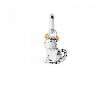 Links Of London Sterling Silver & 18kt Yellow Gold Vermeil Chinese Zodiac Tiger Charm