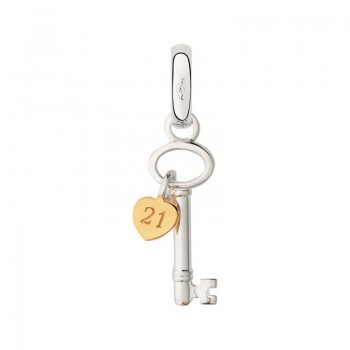 Links Of London Sterling Silver 21st Birthday Key Charm