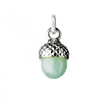 Links Of London Sterling Silver & Amazonite Acorn Charm
