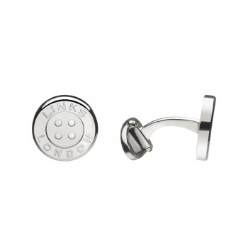 Links Of London Sterling Silver Button Cufflinks