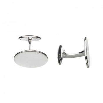 Links Of London Sterling Silver Classic Oval Cufflinks