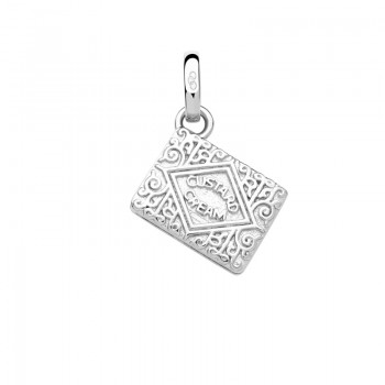 Links Of London Sterling Silver Custard Cream Biscuit Charm