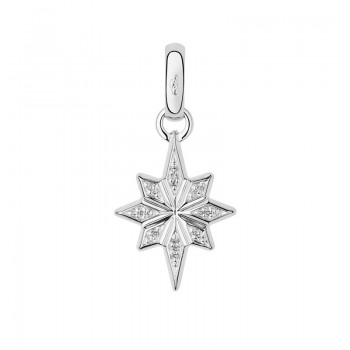 Links Of London Sterling Silver & Diamond Pave Christmas Star Charm