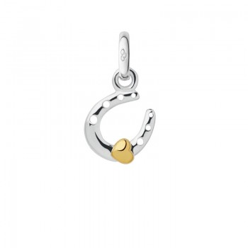 Links Of London Sterling Silver Horseshoe & Heart Mini Charm