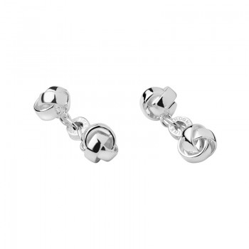 Links Of London Sterling Silver Knot Cufflinks