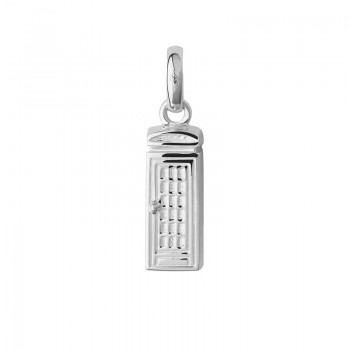 Links Of London Sterling Silver London Phone Box Charm