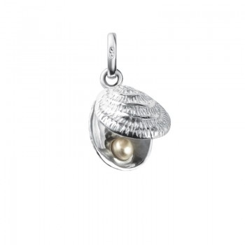 Links Of London Sterling Silver Lucky Catch Shell Charm