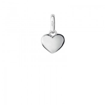Links Of London Sterling Silver Mini Slim Heart Charm