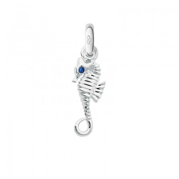 Links Of London Sterling Silver Sapphire Seahorse Charm