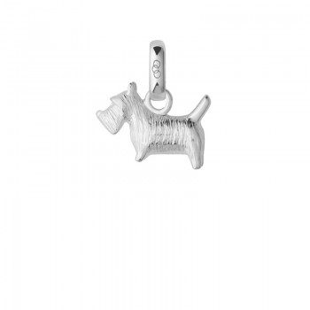Links Of London Sterling Silver Scottish Terrier Dog Charm