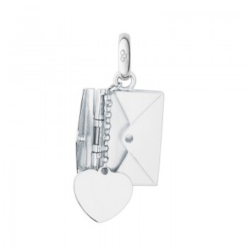 Links Of London Sterling Silver Sealed With A Kiss Envelope Charm