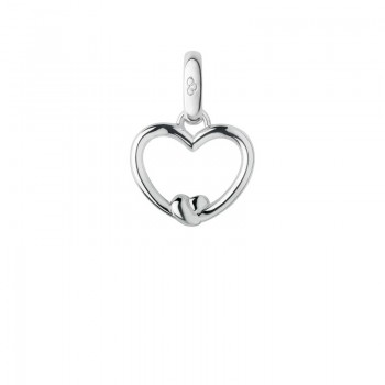 Links Of London Sterling Silver Tie the Knot Heart Charm