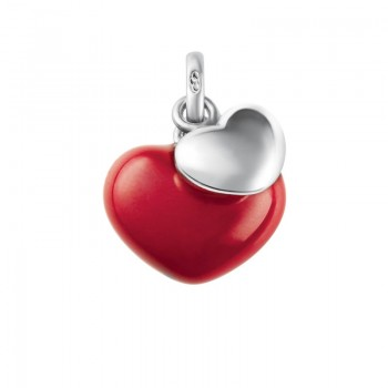 Links Of London Sterling Silver Two Hearts Charm