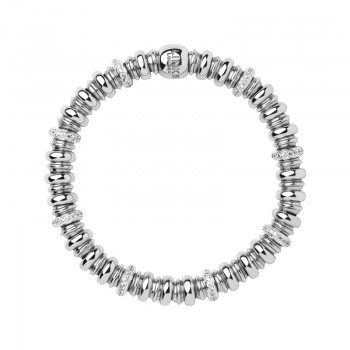 Links Of London Sweetheart Sterling Silver & White Topaz Bracelet