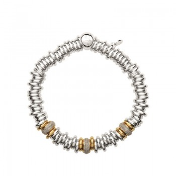 Links Of London Sweetie 25 Years 18kt Gold & Diamond Bead Bracelet