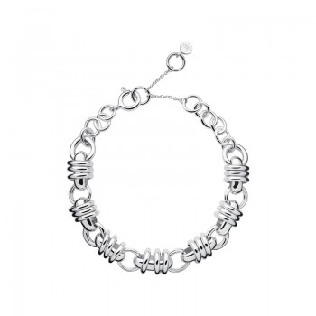 Links Of London Sweetie Sterling Silver Chain Charm Bracelet