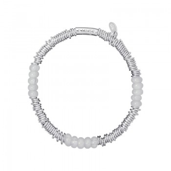 Links Of London Sweetie XS Sterling Silver & Milky Quartz Bracelet