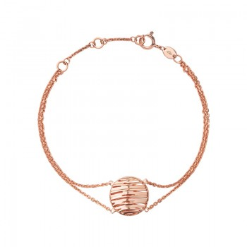 Links Of London Thames 18kt Rose Gold Vermeil Bracelet