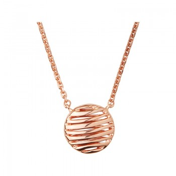 Links Of London Thames 18kt Rose Gold Vermeil Necklace