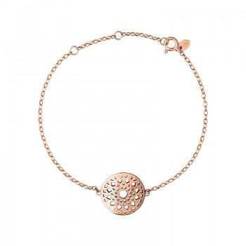 Links Of London Timeless 18kt Rose Gold Vermeil Bracelet