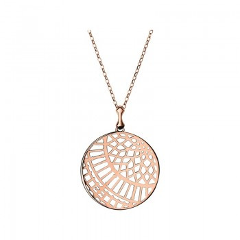 Links Of London Timeless 18kt Rose Gold Vermeil Large Arch Necklace