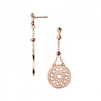 Links Of London Timeless 18kt Rose Gold Vermeil Large Earrings