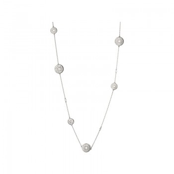 Links Of London Timeless Sterling Silver Multi Station Necklace