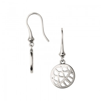 Links Of London Timeless Sterling Silver Small Arch Drop Earrings