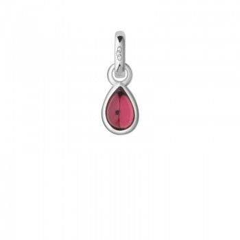 Links Of London Tourmaline & Sterling Silver October Mini Birthstone Charm