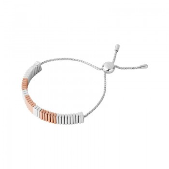 Links Of London True Friendship Sterling Silver 18kt Rose Gold Vermeil Bracelet