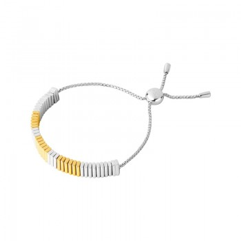 Links Of London True Friendship Sterling Silver & 18kt Yellow Gold Vermeil Bracelet